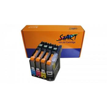 4 Compatible Ink Cartridges to Brother LC-223, LC-225, LC-227  (BK, C, M, Y) XL