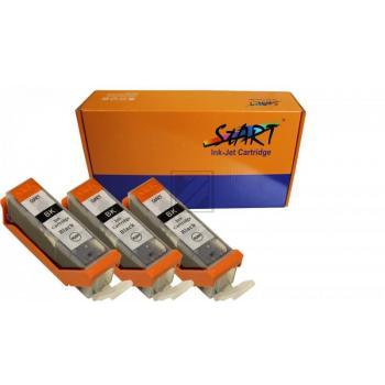 3 Compatible Ink Cartridges to Canon PGI-570 (BK) XL