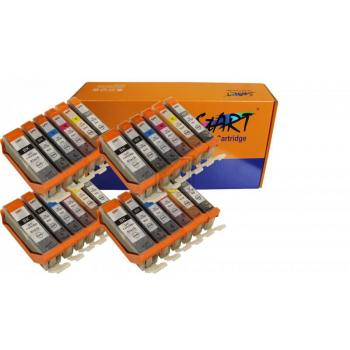 24 Compatible Ink Cartridges to Canon PGI-570 / CLI-571  (BK, PHBK, C, M, Y, GY) XL