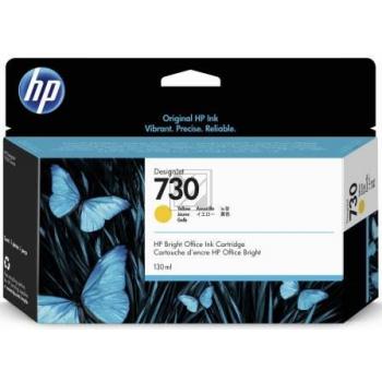 HP Tintenpatrone gelb SC (P2V64A, 730)