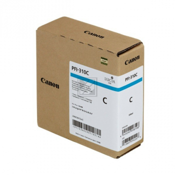 Canon Tintenpatrone cyan HC (2360C001AA, PFI-310C)