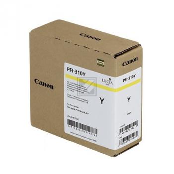 Canon Tintenpatrone gelb HC (2362C001AA, PFI-310Y)