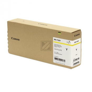 Canon Tintenpatrone gelb HC plus (2357C001AA, PFI-710Y)