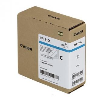 Canon Tintenpatrone cyan (2365C001, PFI-110C)