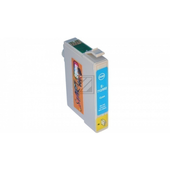 Compatible Ink Cartridge to Epson T0712 (C)