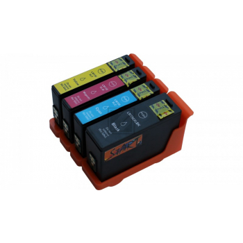 4 Compatible Ink Cartridges to Lexmark L150 (BK, C, M, Y)