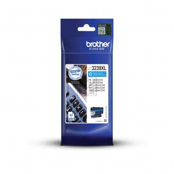 Brother Tintenpatrone cyan HC (LC-3239XLC)