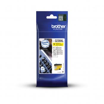 Brother Tintenpatrone gelb HC (LC-3239XLY)