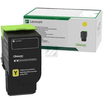 Lexmark Toner-Kartusche Return Program gelb HC plus (C242XY0)