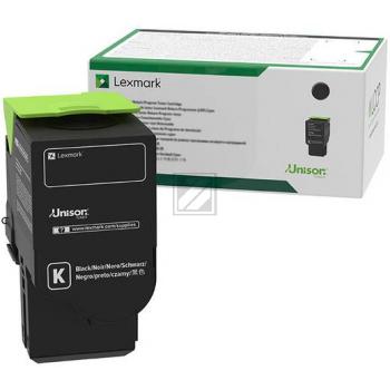 Lexmark Toner-Kartusche Return Program schwarz HC plus (C242XK0)