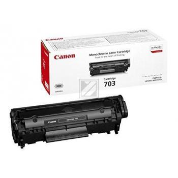 Canon Toner-Kartusche schwarz (7615A005 7616A005, 703)