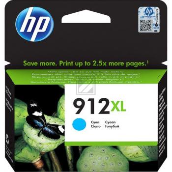 3YL81AE // cyan // HP Ink Cart. No. 912XL / 3YL81AE