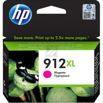 3YL82AE // magenta // HP Ink Cart. No. 912XL / 3YL82AE