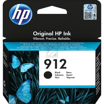 3YL80AE // black // HP Ink Cart. No. 912 / 3YL80AE