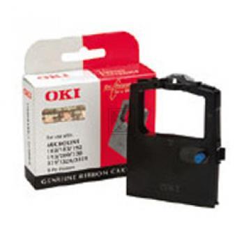 OKI 09002303, OKI Farbband Nylon, schwarz