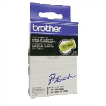 BROTHER P-TOUCH 12MM GELB/ SCHWARZ