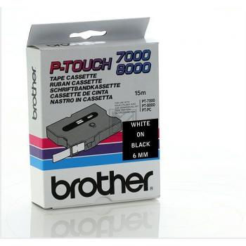 BROTHER P-TOUCH 6MM SCHW./WEI?