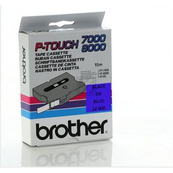 BROTHER P-TOUCH 12MM BLAU/SCHW