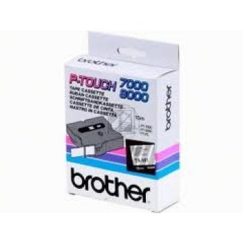 BROTHER P-TOUCH 18MM FARBLOS/ SCHWARZ