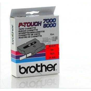 BROTHER P-TOUCH 24MM ROT/SCHW. ROT/SCHWARZ 24MM ORIGINAL #TX451
