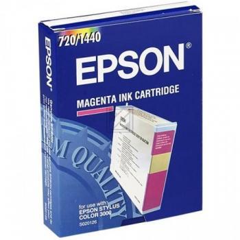 Epson C13S020126 | 110ml, Epson Tintenpatrone, magenta