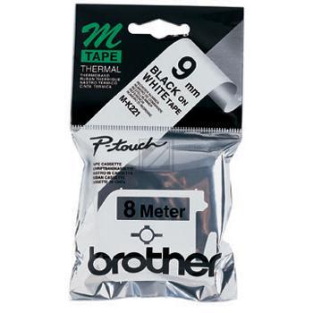 BROTHER P-TOUCH 9MM SCHWARZ AUF WEISS # 22812, Kapazität: 8M