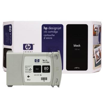 HP DJ 1050C/1055CM TINTE 350ML NO.80 SCHWARZ