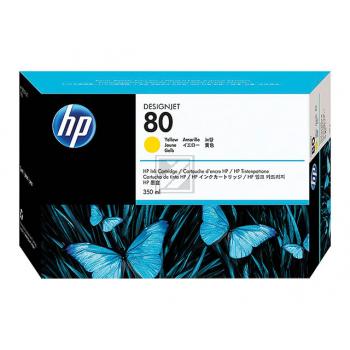 HP DJ 1050C/1055CM TINTE 350ML NO.80 GELB