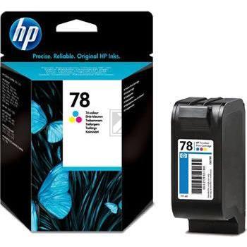 HP Tintendruckkopf cyan/gelb/magenta (C6578DE, 78)