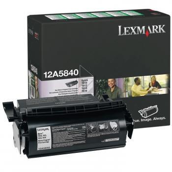 LEXMARK 12A5840 | 10000 Seiten, LEXMARK Tonerkassette, schwarz