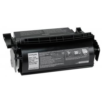 Lexmark Toner-Kartusche schwarz High-Capacity (12A5845)