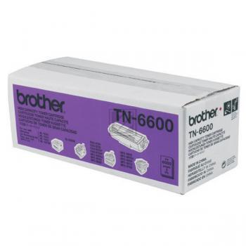 BROTHER TN6600 | 6000 Seiten , BROTHER Tonerkassette mit hoher Reichweite, schwarz