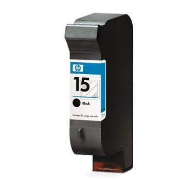 Hewlett Packard Tintenpatrone schwarz High-Capacity (C6615DE, 15)