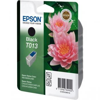Original Epson C13T01340110 / T013 Tinte Schwarz