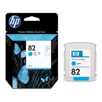 Hewlett Packard Tintenpatrone cyan (CH566A, 82)