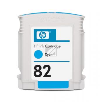 Original HP CH566A / 82 Tinte Cyan