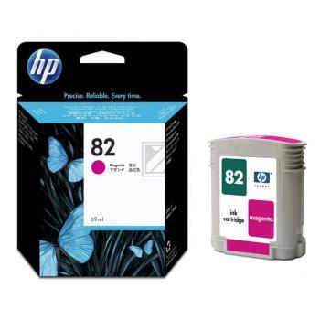 Hewlett Packard Tintenpatrone magenta (C4912A, 82)