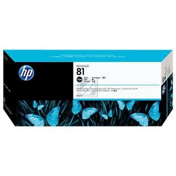 HP DESIGNJET 5000/5000PS TINTE SCHWARZ NO.81