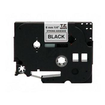 Brother Schriftbandkassette schwarz/weiß (TZE-S211)