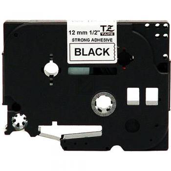 Brother Schriftbandkassette schwarz/weiß (TZE-S231)