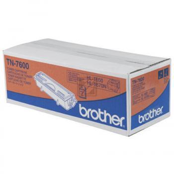 BROTHER TN7600   6500 Seiten, BROTHER Tonerkassette mit hoher Reichweite, schwarz