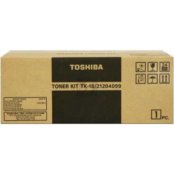 Toshiba TK18   6000 Seiten, Toshiba Toner, schwarz