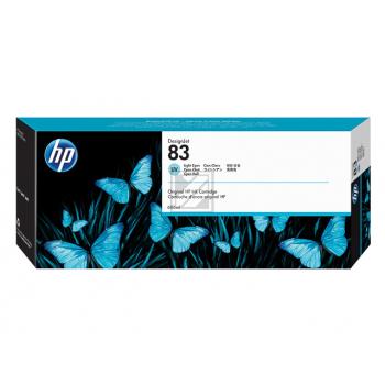 Hewlett Packard Tintenpatrone cyan light (C4944A, 83)