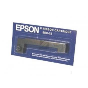 EPSON ERC22B KASSEN FARBBAND SCHWARZ C43S015358(neu)