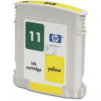 Hewlett Packard Tintenpatrone gelb High-Capacity (C4838AE, 11)