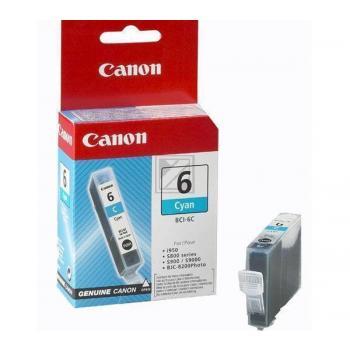 Canon Tintenpatrone cyan (4706A002, BCI-6C)