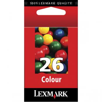 Lexmark Tintenpatrone farbig High-Capacity (10N0026, 26)
