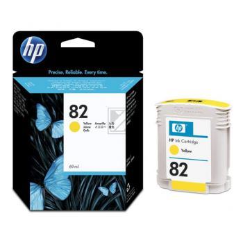 Hewlett Packard Tintenpatrone gelb (C4913A, 82)