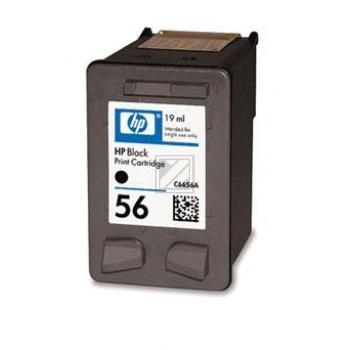 C6656AE HP Nr.56 Druckpatrone, schwarz (19ml), Kapazität: 450