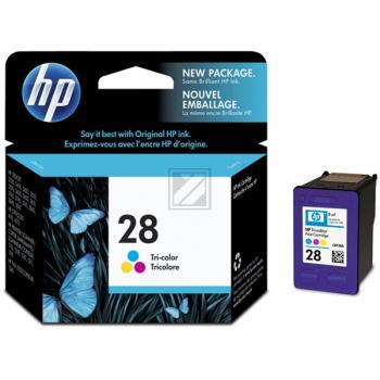 Hewlett Packard Tintenpatrone cyan/gelb/magenta (C8728AE, 28)